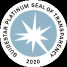 2020 Platinum Seal of Transparency